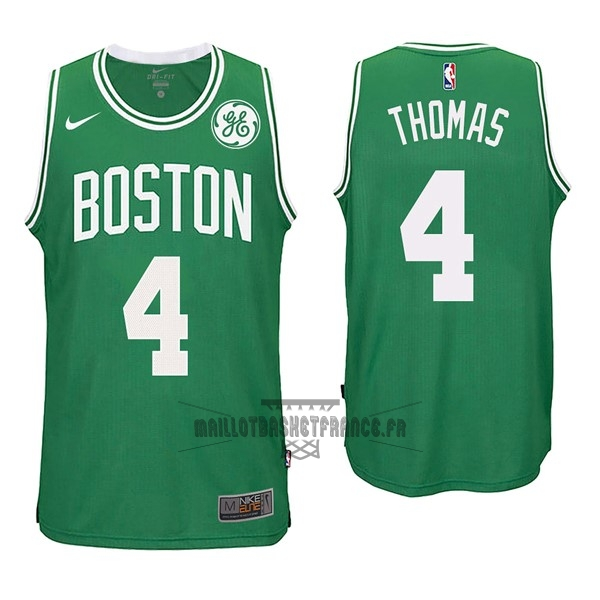Meilleur Maillot NBA Nike Boston Celtics NO.4 Isaiah Thomas Vert
