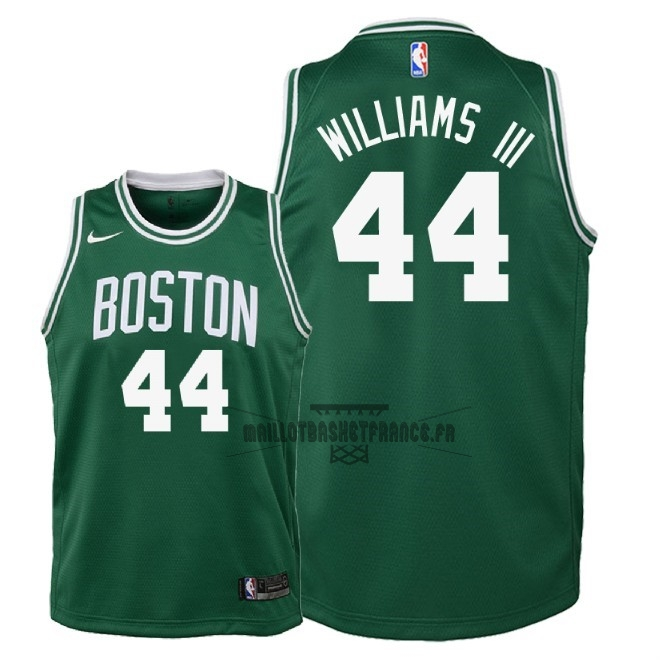 Meilleur Maillot NBA Enfant Boston Celtics NO.44 Robert Williams III Vert Icon 2018