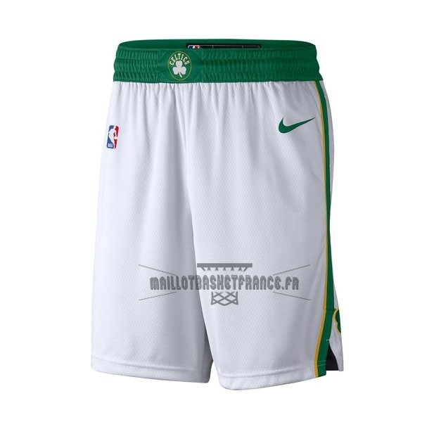 Meilleur Short Basket Boston Celtics Nike Blanc Ville 2018-19
