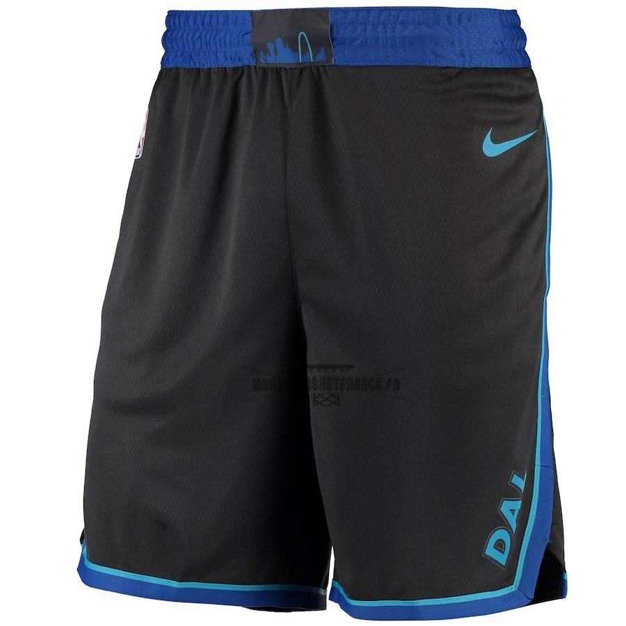 Meilleur Short Basket Dallas Mavericks Nike Anthracite Ville 2018-19