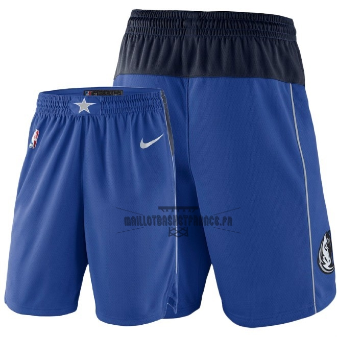 Meilleur Short Basket Dallas Mavericks Nike Bleu 2018