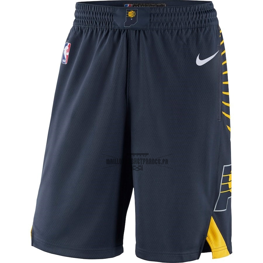 Meilleur Short Basket Indiana Pacers Nike Marine Icon 2018-19