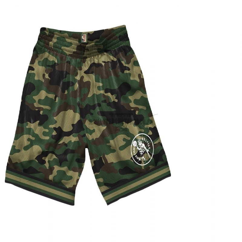 Meilleur Short Basket Boston Celtics camo