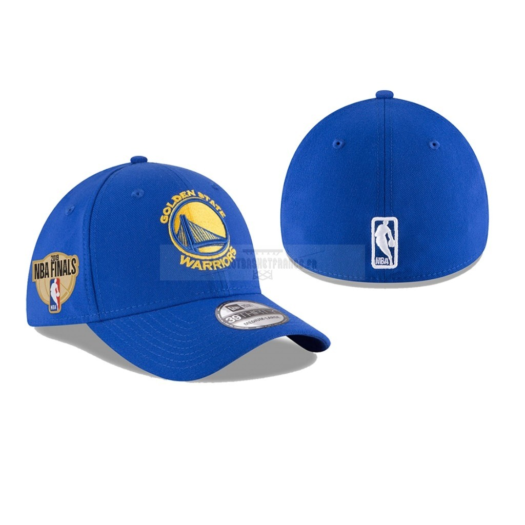 Meilleur Bonnet 2019 NBA Finals Golden State Warriors Bleu 01