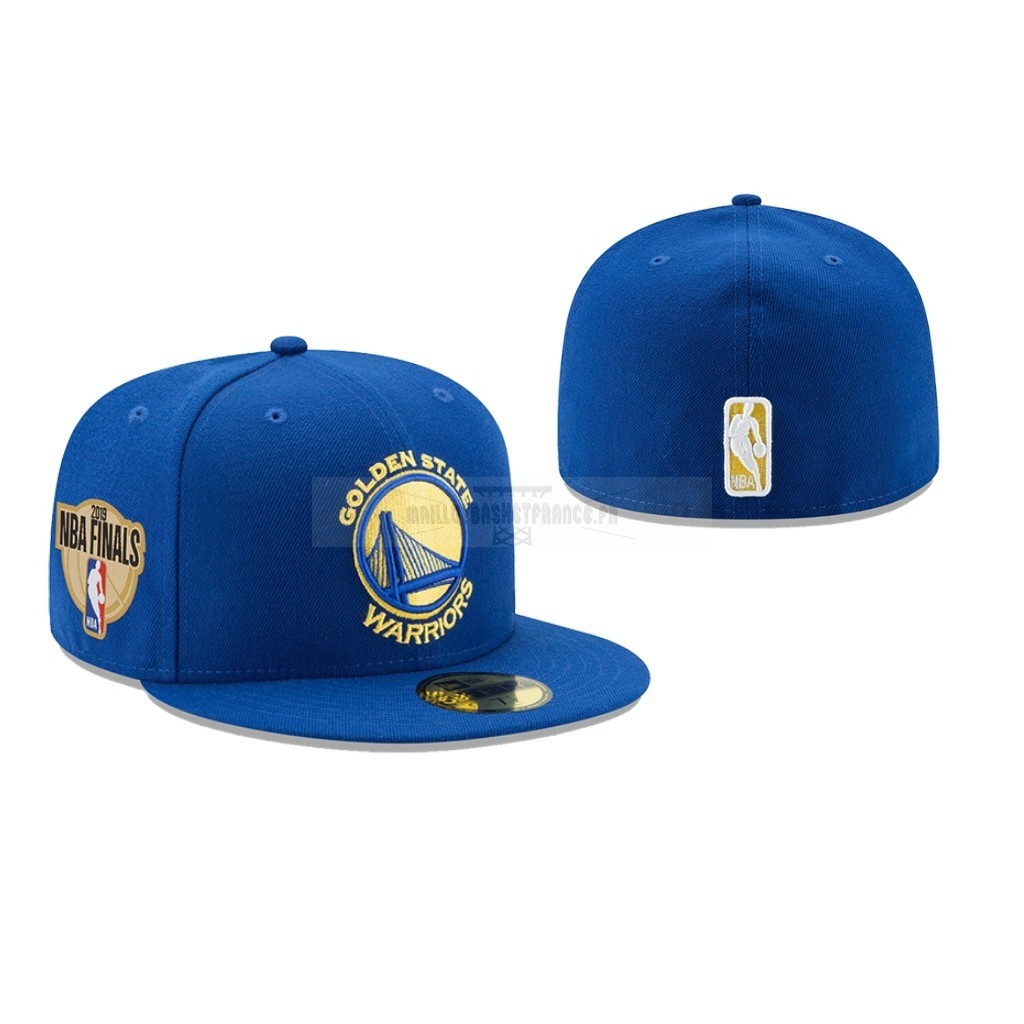 Meilleur Bonnet 2019 NBA Finals Golden State Warriors Bleu 02