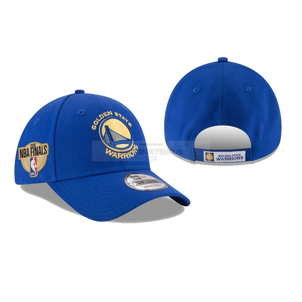 Meilleur Bonnet 2019 NBA Finals Golden State Warriors Bleu 03