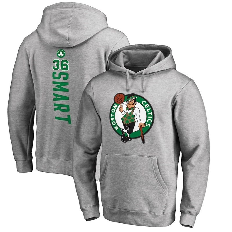 Hoodies NBA Boston Celtics Gris