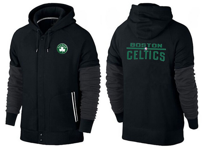 Hoodies NBA Boston Celtics Noir Vert