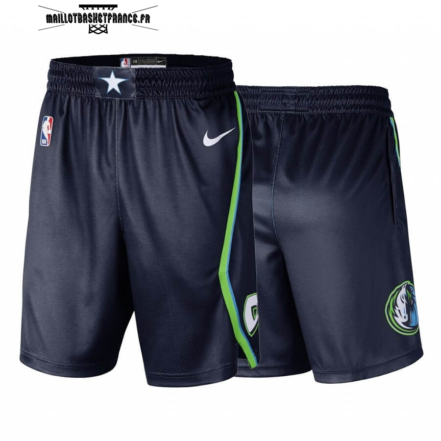 Meilleur Short Basket Dallas Mavericks Nike Noir Ville 2019-20