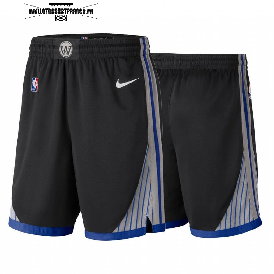 Meilleur Short Basket Golden State Warriors Nike Noir Ville 2019-20