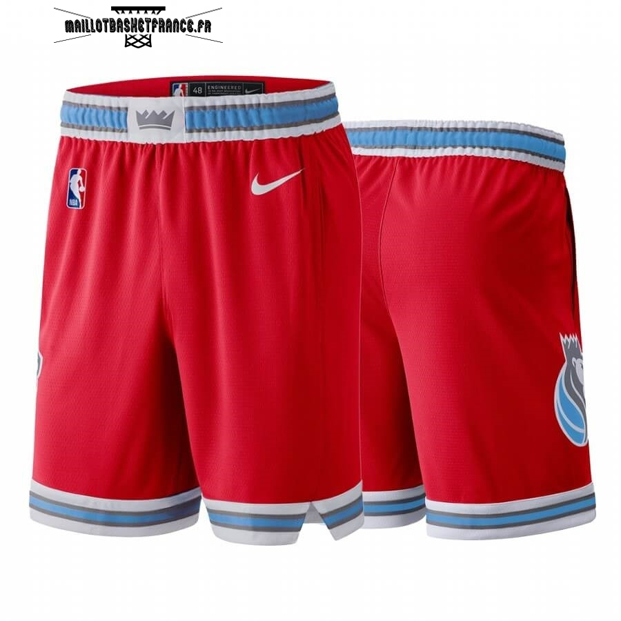 Meilleur Short Basket Sacramento Kings Nike Rouge Ville 2019-20