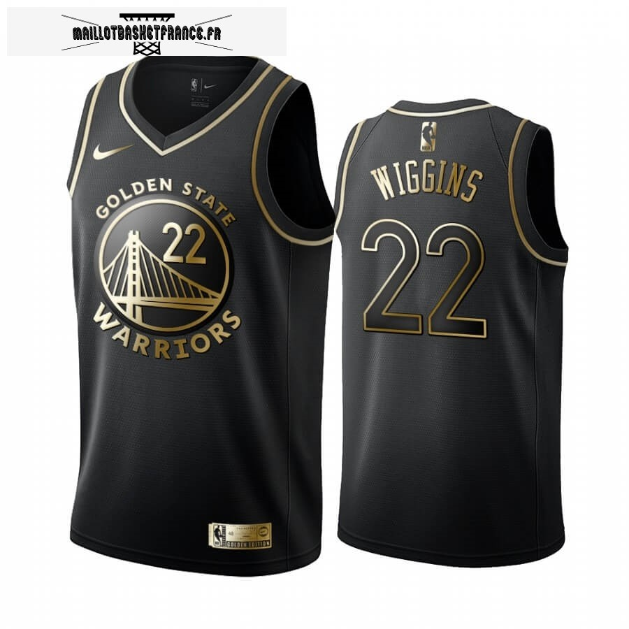Maillot NBA Nike Miami Heat NO.22 Andrew Wiggins Or Edition 2019-20