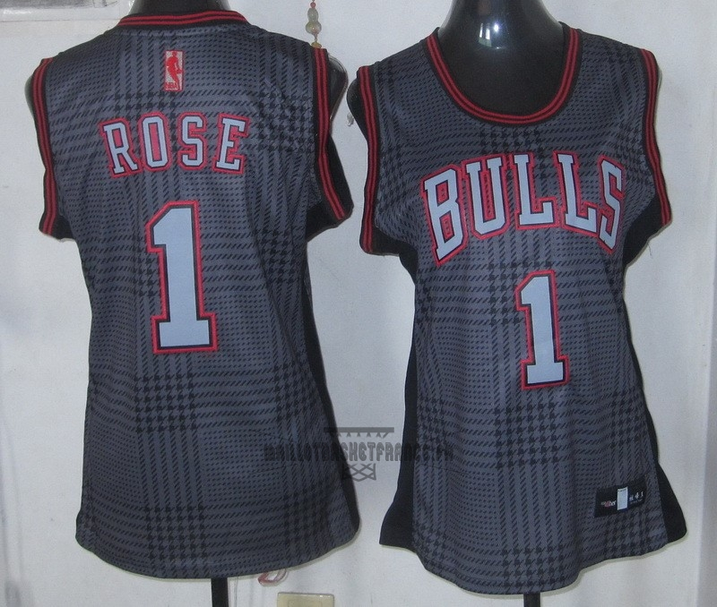 Meilleur Maillot NBA Femme 2013 Static Fashion NO.1 Derrick Rose