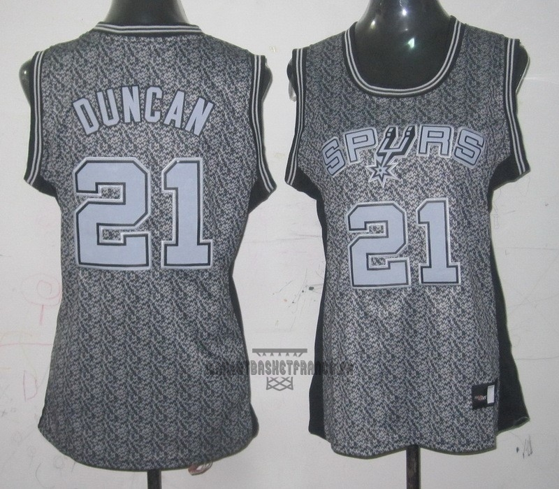 Meilleur Maillot NBA Femme 2013 Static Fashion NO.21 Tim Duncan