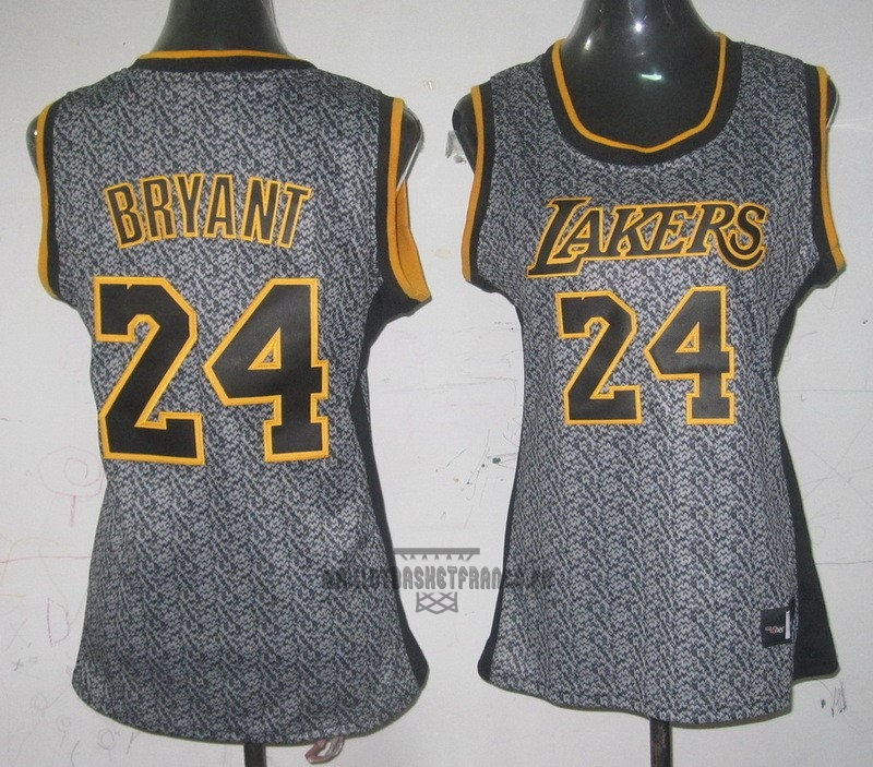 Meilleur Maillot NBA Femme 2013 Static Fashion NO.24 Kobe Bryant