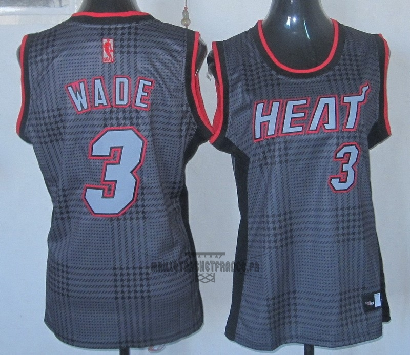 Meilleur Maillot NBA Femme 2013 Static Fashion NO.3 Wade