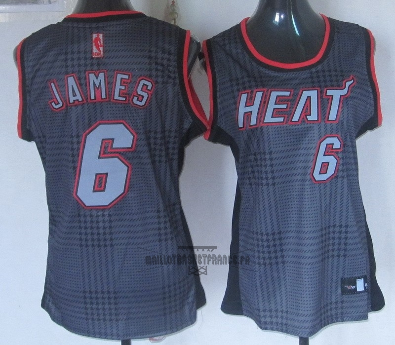 Meilleur Maillot NBA Femme 2013 Static Fashion NO.6 James