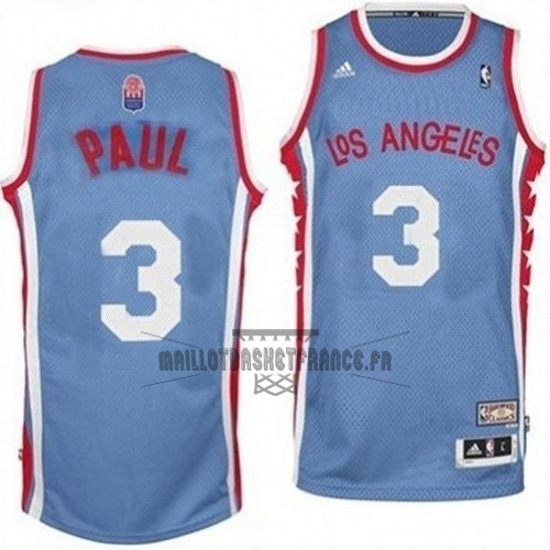 Meilleur Maillo ABA Los Angeles Clippers NO.3 Paul Gris