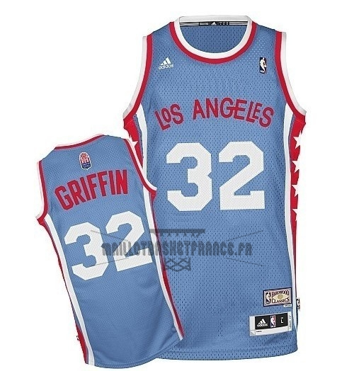 Meilleur Maillo ABA Los Angeles Clippers NO.32 Griffin Gris