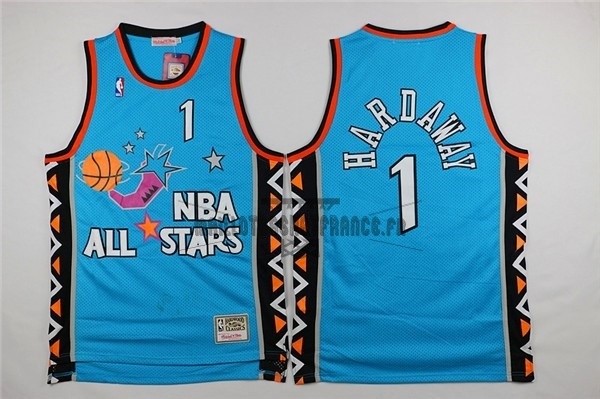 Meilleur Maillot NBA 1996 All Star NO.1 Anfernee Hardaway Bleu