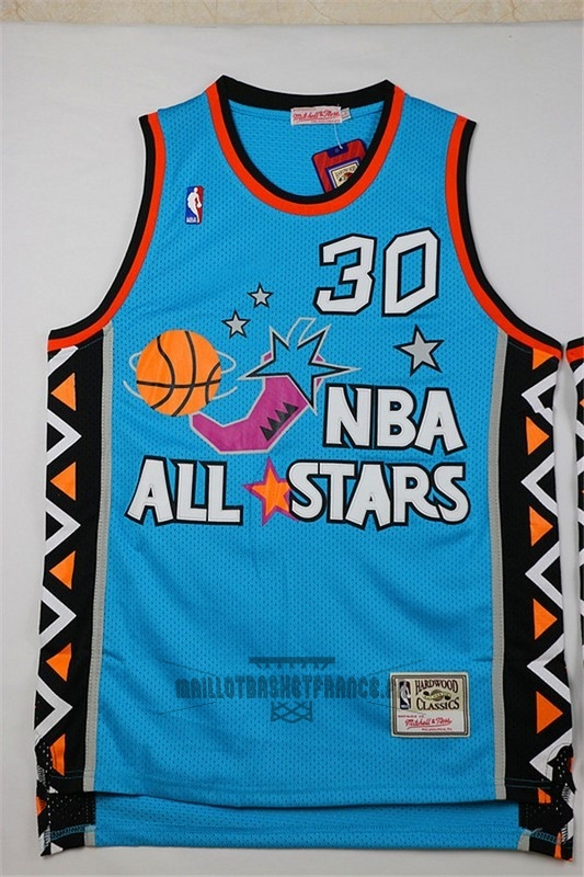 Meilleur Maillot NBA 1996 All Star NO.30 Scottie Pippen Bleu