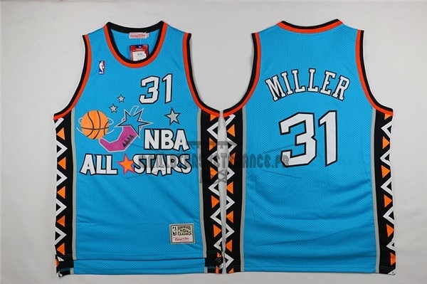 Meilleur Maillot NBA 1996 All Star NO.31 Andre Miller Bleu