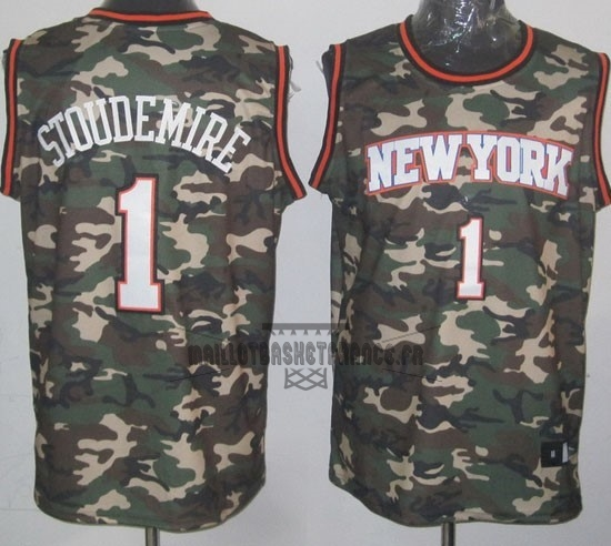 Meilleur Maillot NBA 2013 Camouflage Fashion NO.1 Stoudemire