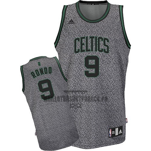 Meilleur Maillot NBA 2013 Static Fashion Boston Celtics NO.9 Rondo