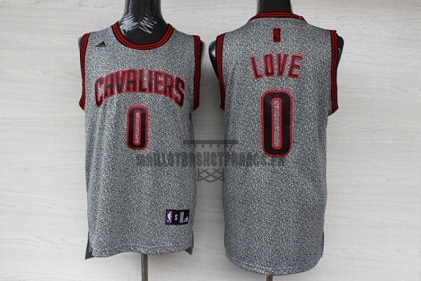 Meilleur Maillot NBA 2013 Static Fashion Cleveland Cavaliers NO.0 Love