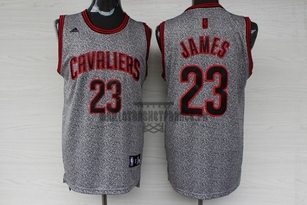 Meilleur Maillot NBA 2013 Static Fashion Cleveland Cavaliers NO.23 James