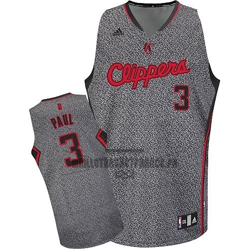 Meilleur Maillot NBA 2013 Static Fashion Los Angeles Clippers NO.3 Chris Paul