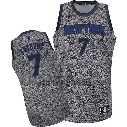 Meilleur Maillot NBA 2013 Static Fashion New York Knicks NO.7 Anthony