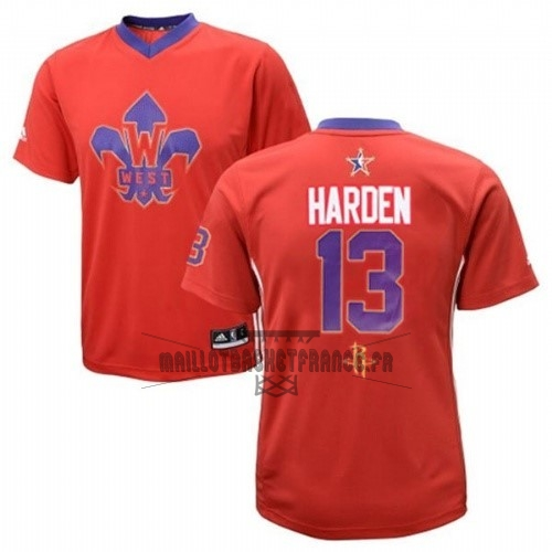 Meilleur Maillot NBA 2014 All Star NO.13 James Harden Rouge
