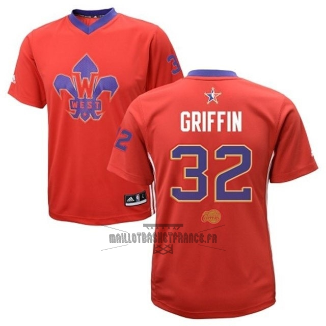 Meilleur Maillot NBA 2014 All Star NO.32 Blake Griffin Rouge