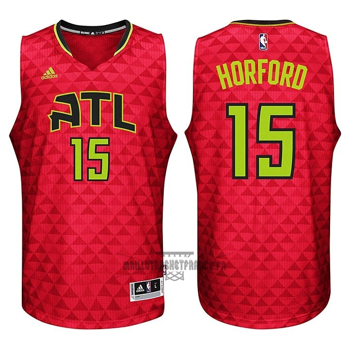 Meilleur Maillot NBA Atlanta Hawks No.15 Al Horford Rouge