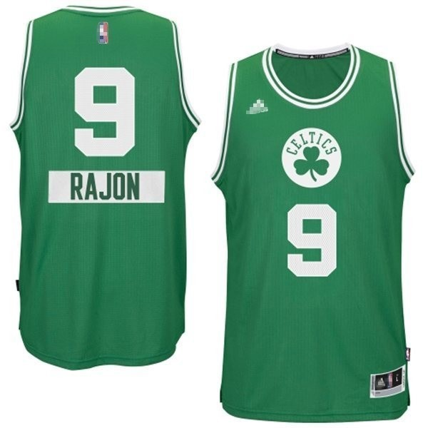 Meilleur Maillot NBA Boston Celtics 2014 Noël NO.0 Damian Noir
