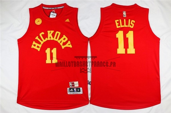 Meilleur Maillot NBA Indiana Pacers NO.11 Monta Ellis Rouge