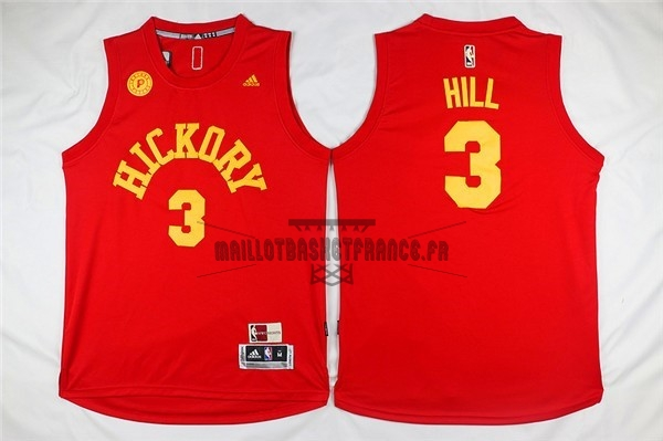 Meilleur Maillot NBA Indiana Pacers NO.3 George Hill Rouge