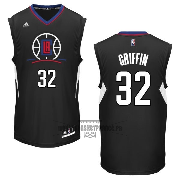 Meilleur Maillot NBA Los Angeles Clippers NO.32 Blake Griffin Noir