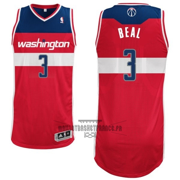 Meilleur Maillot NBA Washington Wizards NO.3 Bradley Beall Rouge