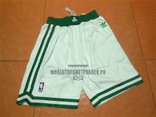 Meilleur Short Basket Boston Celtics Retro Noir