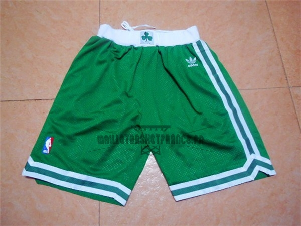 Meilleur Short Basket Boston Celtics Retro Vert