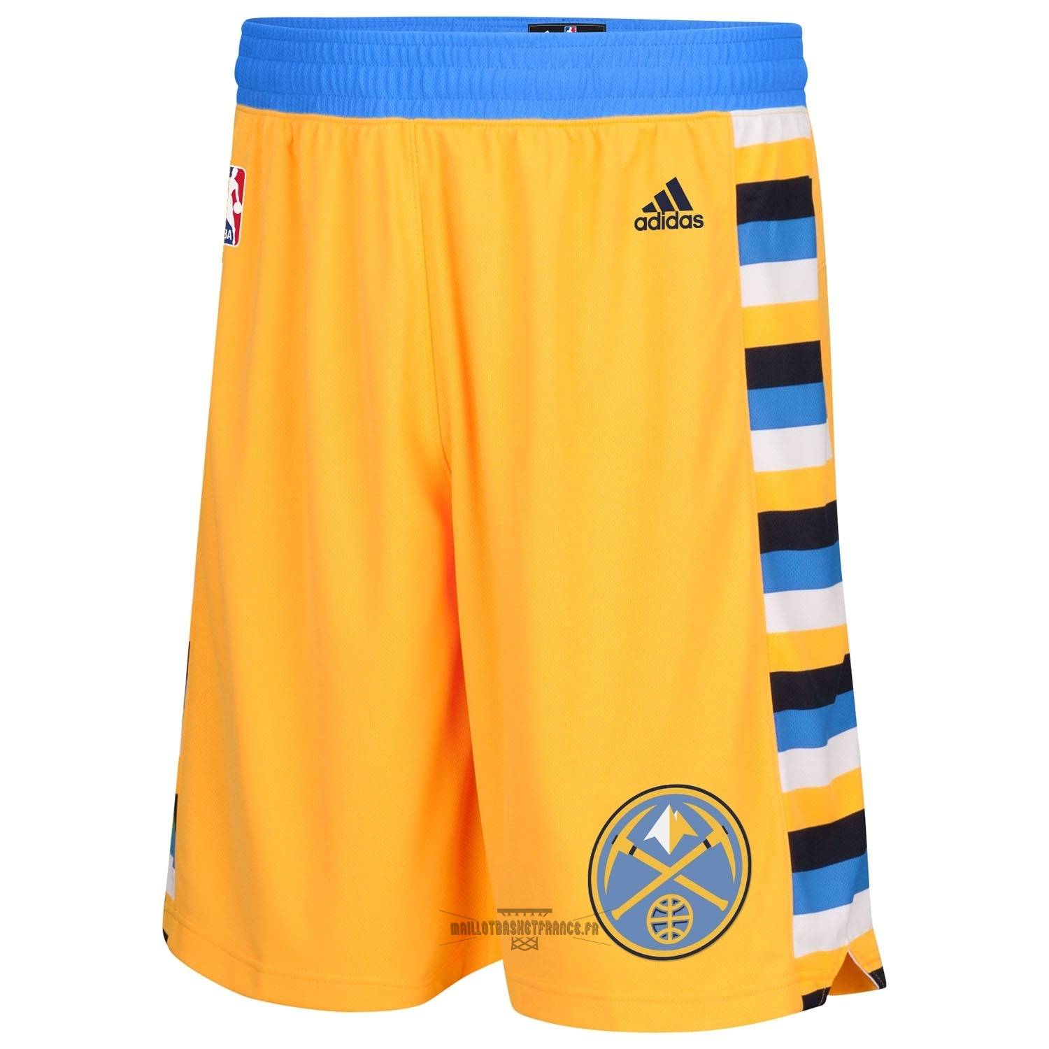Meilleur Short Basket Denver Nuggets Jaune