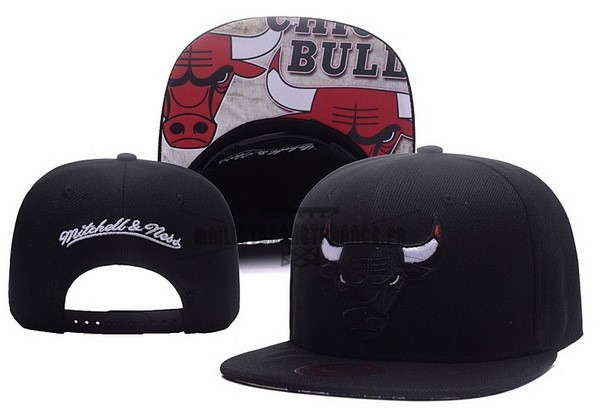Meilleur Bonnet 2017 Chicago Bulls Noir NO.01