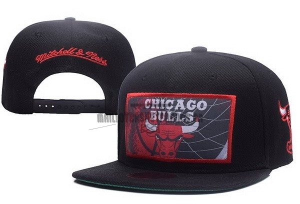 Meilleur Bonnet 2017 Chicago Bulls Rouge Noir NO.01