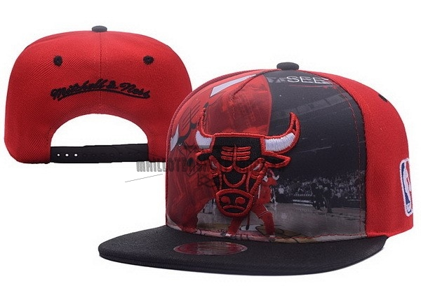 Meilleur Bonnet 2017 Chicago Bulls Rouge Noir NO.03