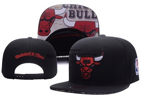 Meilleur Bonnet 2017 Chicago Bulls Rouge Noir NO.04