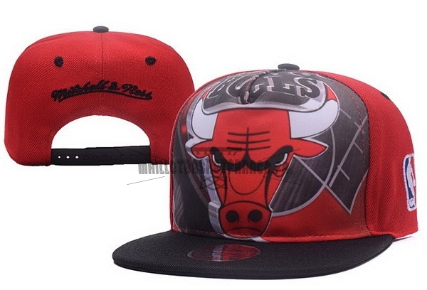 Meilleur Bonnet 2017 Chicago Bulls Rouge Noir NO.05